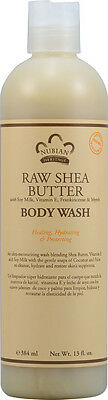 Raw Shea Butter Body Wash, Nubian Heritage, 13 oz 1 pack