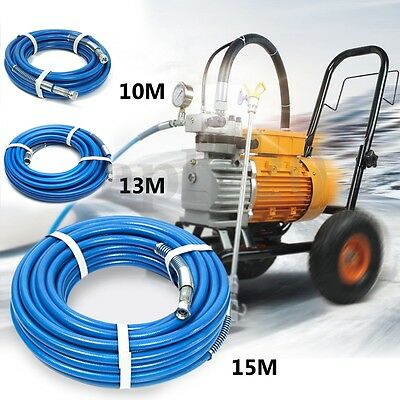 10/13/15m 1/4'' 5000PSI Airless Paint Spray Hose Tube Max For Wagner Titan Graco