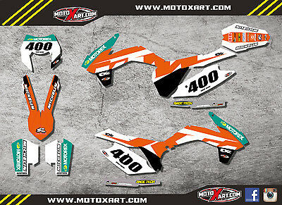 KTM EXC - XCF  2014 2015 2016 RECKLESS style sticker kit / decals / graphics