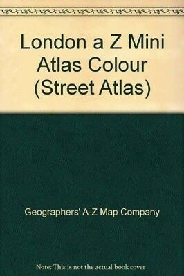 A-Z of London Mini Street Atlas - Good Book Geographers' A-Z Map Company