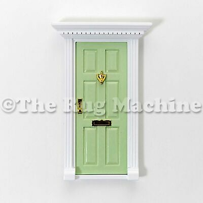 MAGICAL FAIRY DOOR - PALE GREEN Wooden Miniature Doll Size|Aussie Company **NEW*