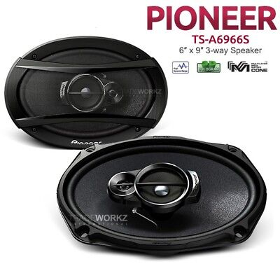 "New PIONEER TS-A6966S 420W 6x9 6""x9"" 3-Way Car Coaxial Speaker"