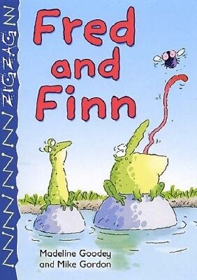 Fred and Finn (Zigzag) - New Book Goody, Madeline