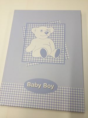 Baby Boy Baby Book Keepsake