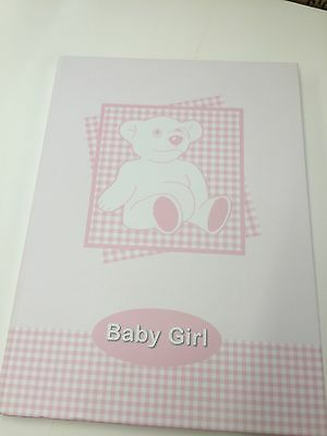 Baby Girl Baby Book Keepsake