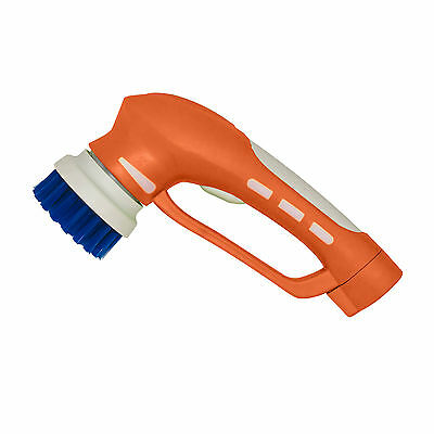 Cordless Handheld Power Brush by iVO, Battery operated Scrubbing Machine