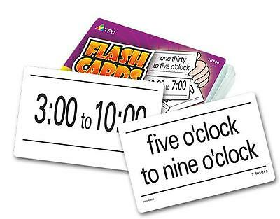 Time Flash Cards Yr 2 Maths Teacher Resource Telling Clock Kids Games Learning