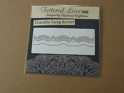 Tattered Lace - Chantilly Collection - Swag Border 2 Dies