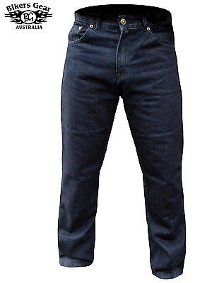 Mens motorbike motorcycle Denim Trousers jeans with protective lining