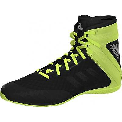 Adidas Speedex 16.1 Boxing Boots - Black Green Mens Trainers Shoes