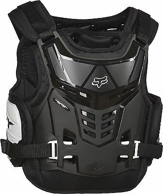 Fox Racing Youth Kids Raptor Proframe LC KTM Chest Protector one size Black