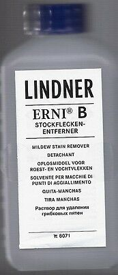 Lindner ERNI B Stamp Care -  Mildew Stain Remover #8071 - Retail $26.95
