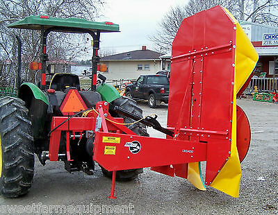 New BDR 185 Tar River 6 ft Drum Mower with Hydraulic Lift. *WE SHIP FAST*