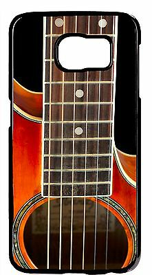 Guitar Strings Musical Theme Back Skin Case Cover for Samsung Galaxy S6/S7/Edge