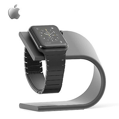 Apple Watch Stand & Charging Dock (Space Gray)