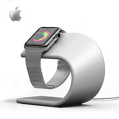 Apple Watch Stand & Charging Dock (Silver)
