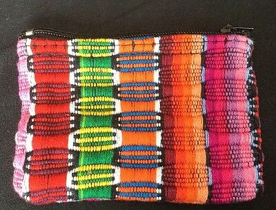Hand Made Coin Purse- Mexican  Jewelry Folk Art-Reduced-Sale-Free Shipping