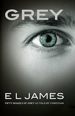 Grey Fifty Shades of Grey as told by Chris - PB Book - Brand New