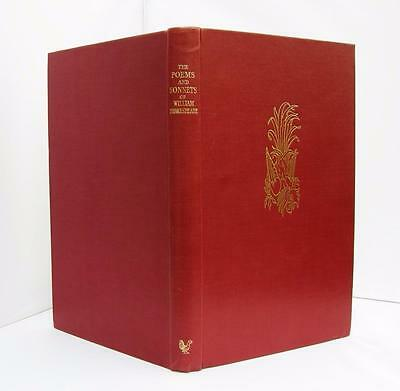 The Poems and Sonnets of William Shakespeare (Ltd Edition, 1960) Cockerel Press