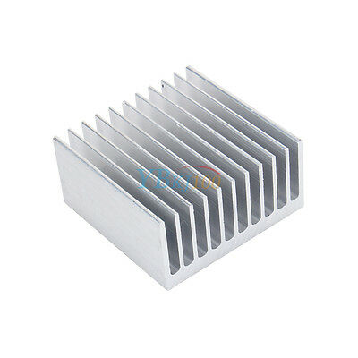 1 Pcs Aluminium Radiator Heatsink Heat Sink 40mm x 40mm x 20mm
