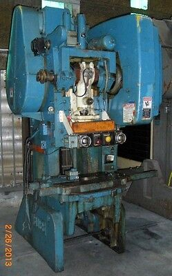 "1975 Bliss C45 Back Geared Type Obi Punch Press, 4"" Stroke, Variable Speed"