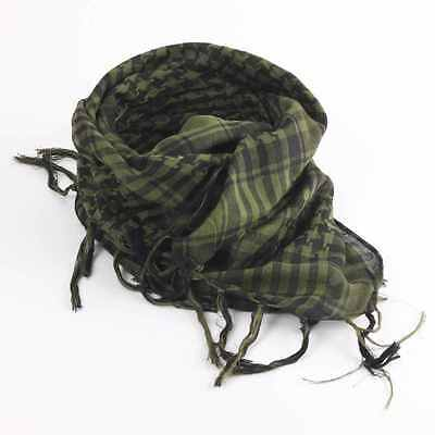 Lightweight Military Tactical Green Army Shemagh KeffIyeh Forest Green Scarf