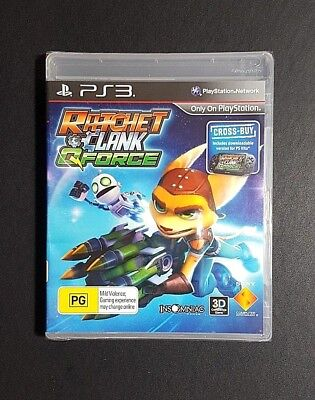 Ratchet And Clank Qforce *NEW / SEALED (Sony PlayStation 3, 2012) PS3 Game