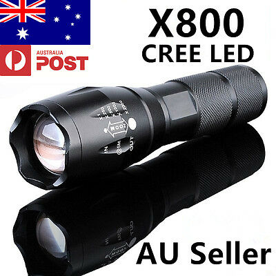 SALE X800 G700 5000LM CREE LED  Military Grade Rechargeable Flashlight Torch