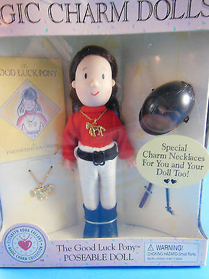 Eden Madeline Magic Charm Doll The Good Luck Pony 1999 poseable Mint in Box