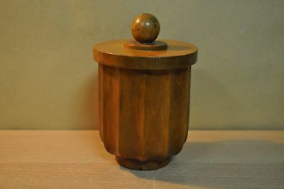 Tobacco Wooden Pot, more than 100 years old, in Good Condition !