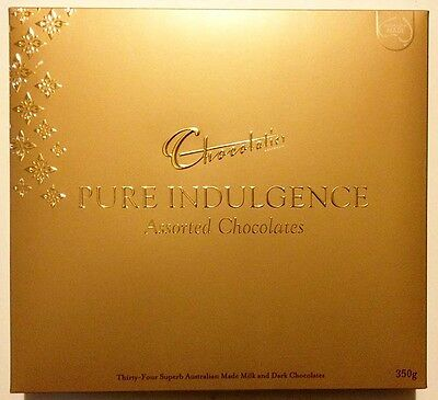 Chocolatier Pure Indulgence Assorted Chocolates Gold Box