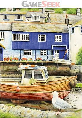 Reeves Water Colour Pencil by Numbers Seaside View