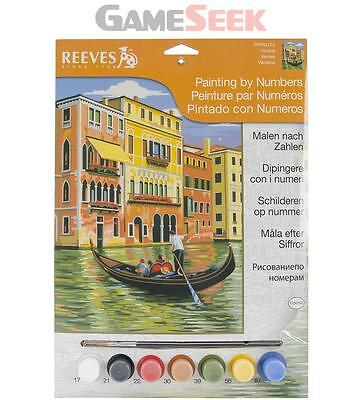 Reeves Painting by Numbers Junior Venice