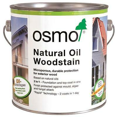Osmo Natural Oil Woodstain 707 Walnut 0.75L Exterior Wood Protection
