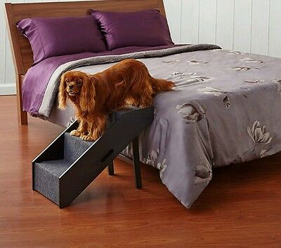 Pet Step Ramp Stairs Flat Collapsible Arthritis Support Large 60 lb Dog Hideaway