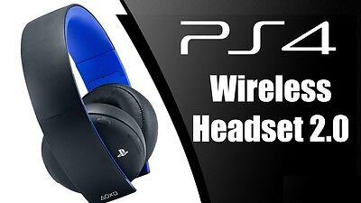 Cuffie Wireless Sony Playstation 4  2.0 Stereo Headset Ps4