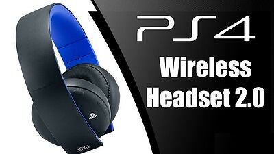 Cuffie Wireless Sony Playstation 4 Black Nere 2.0 Stereo Headset Ps4
