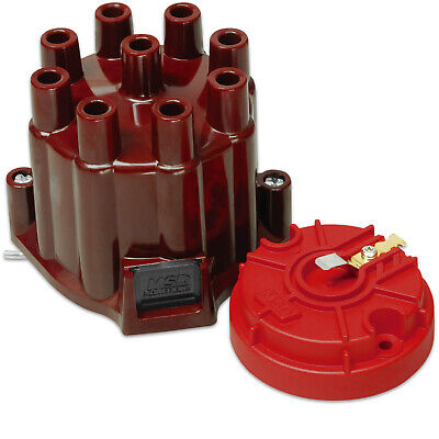 MSD Ignition 8442 Distributor Cap And Rotor Dist. Cap and Rotor; MSD/GM V8 Poin