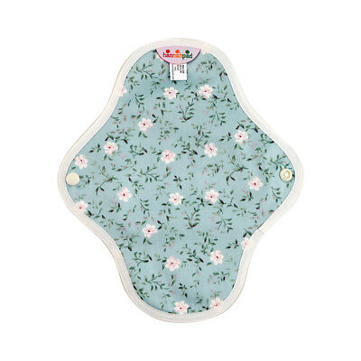 hannahpad Certified Organic Washable Small Pad - Edelweiss Blue (2 Pack) NEW