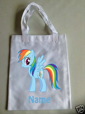Personalised Children's Tote Bag - 35 x 30cm - My Little Pony Style 5