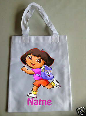 Personalised Children's Tote Bag - 35 x 30cm - Dora