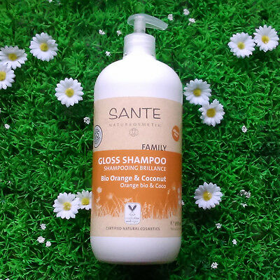 Shampoing brillance orange coco SANTE Family 950ml