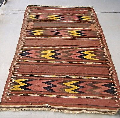 Gorgeous And Rare  Antique Labijar Uzbek Kilim