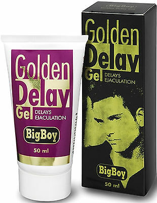 Big Boy Golden Delay Gel 50 ml Ritardante Eiaculazione Precoce