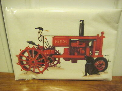 "Mary Lake Thompson ""Red Tractor "" Flour Sack Towel"