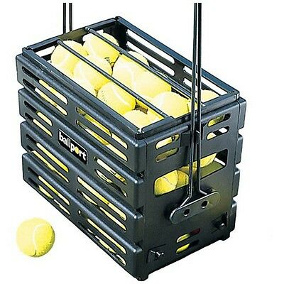 UNIQUE BALL PORT DELUXE 80 TENNIS BALL PICK UP BASKET by TOURNA
