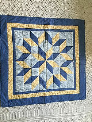 Star Theme quilted wall hanging