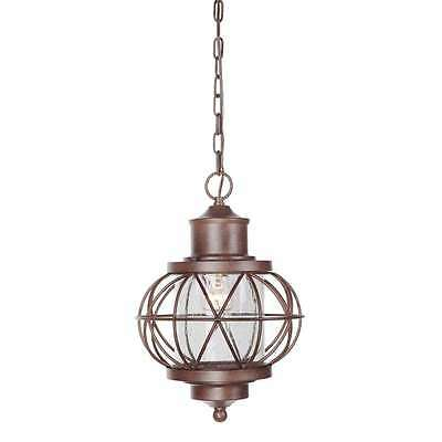 Craftmade Z5921-98 Revere Outdoor Hanging Light In Aged Bronze