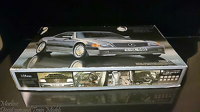 Fujimi 1:24 Mercedes-Benz 500SL Sealed Inside