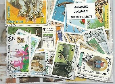 ANIMAUX 300 timbres différents